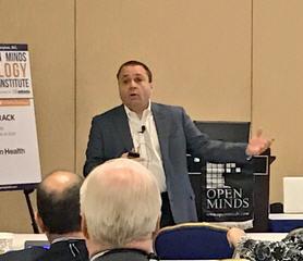 Craig Rhinehart speaking at The 2016 OPEN MINDS Technology & Informatics Institute