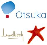 Otsuka Logo & Lundbeck Logo